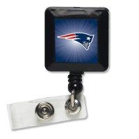NFL New England Patriots 14121021 Retractable Badge Holder ...