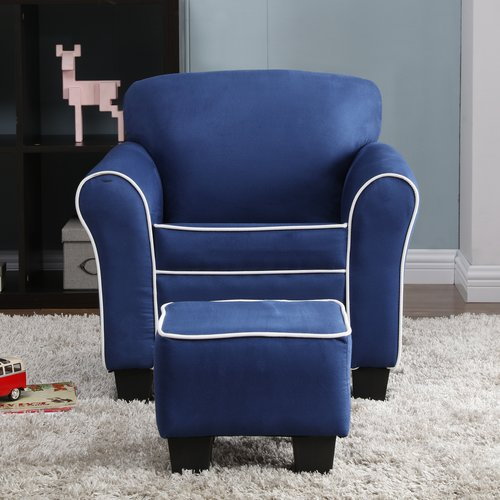 kids chair with ottoman swinging lift video harriet bee aalborg and walmart com