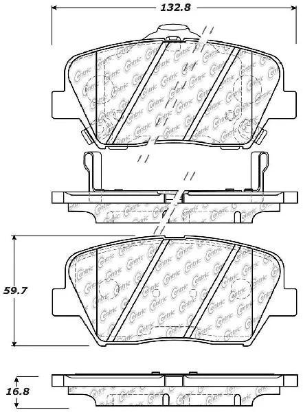 Go-Parts OE Replacement for 2011-2014 Kia Sorento Front