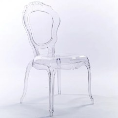 Modern Plastic Chair Sit Up 2xhome Chairs Ghost Side Transparent Crystal Clear