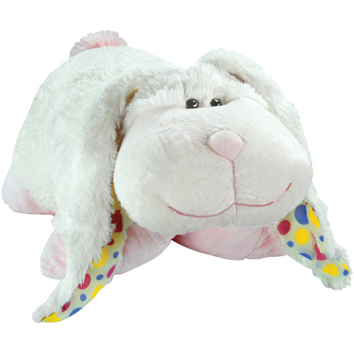 pillow pets limited edition 2011 white thumpy bunny
