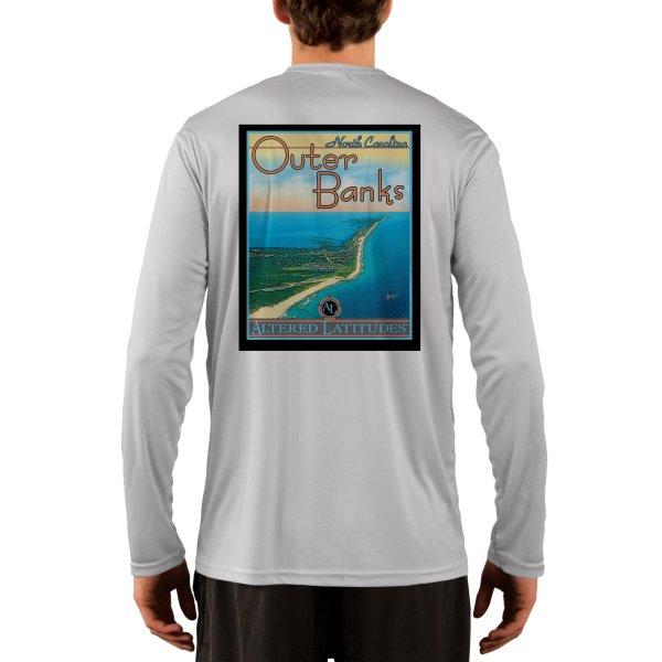 Vintage Destination Outer Banks Men' Upf 50 Uv Sun
