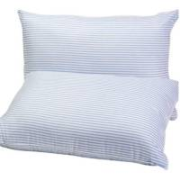 "Mainstays HUGE Pillow (20""x28"") in Blue and White Stripe ..."