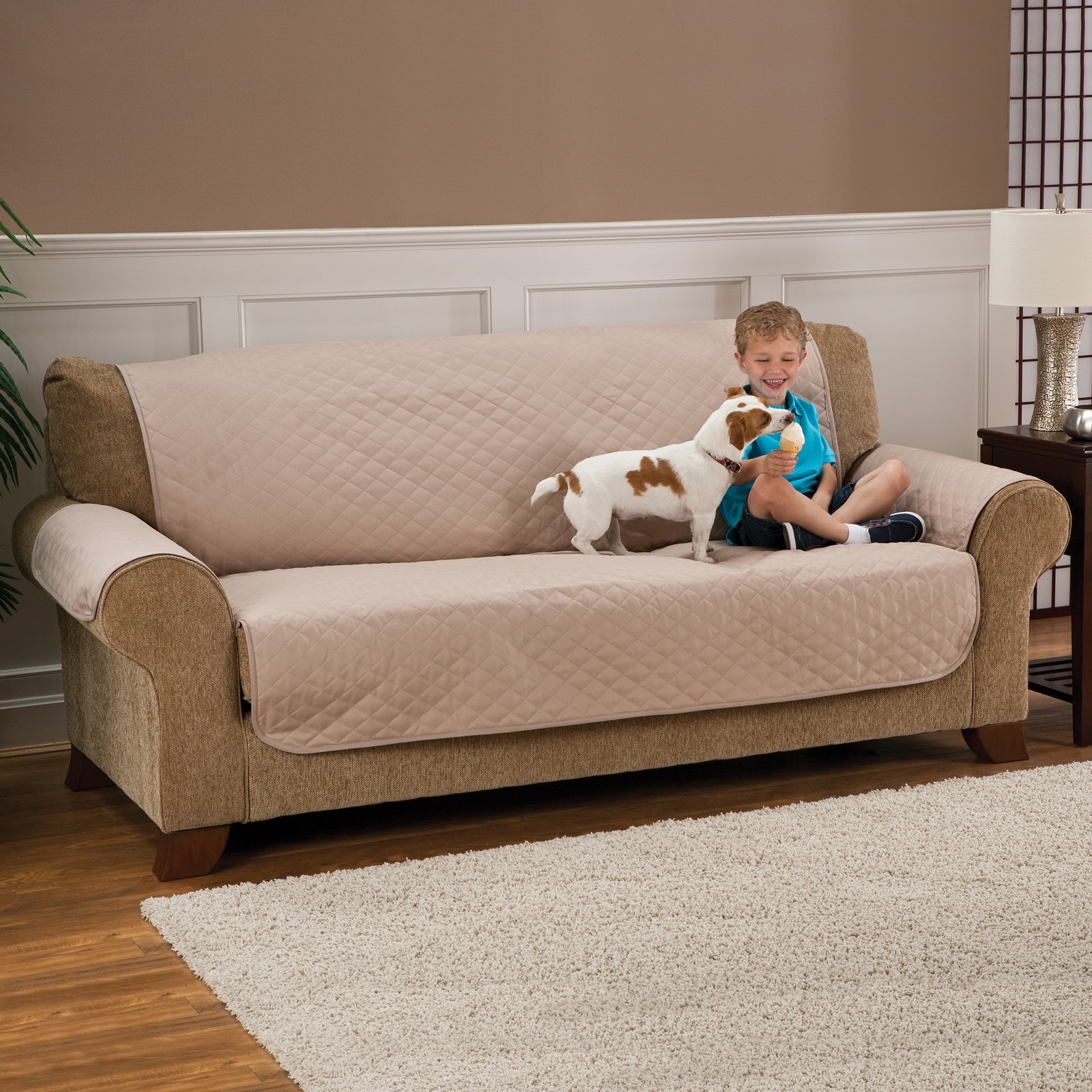 sofa protectors for pets bernhardt london club price pet protector deluxe armless furniture cover