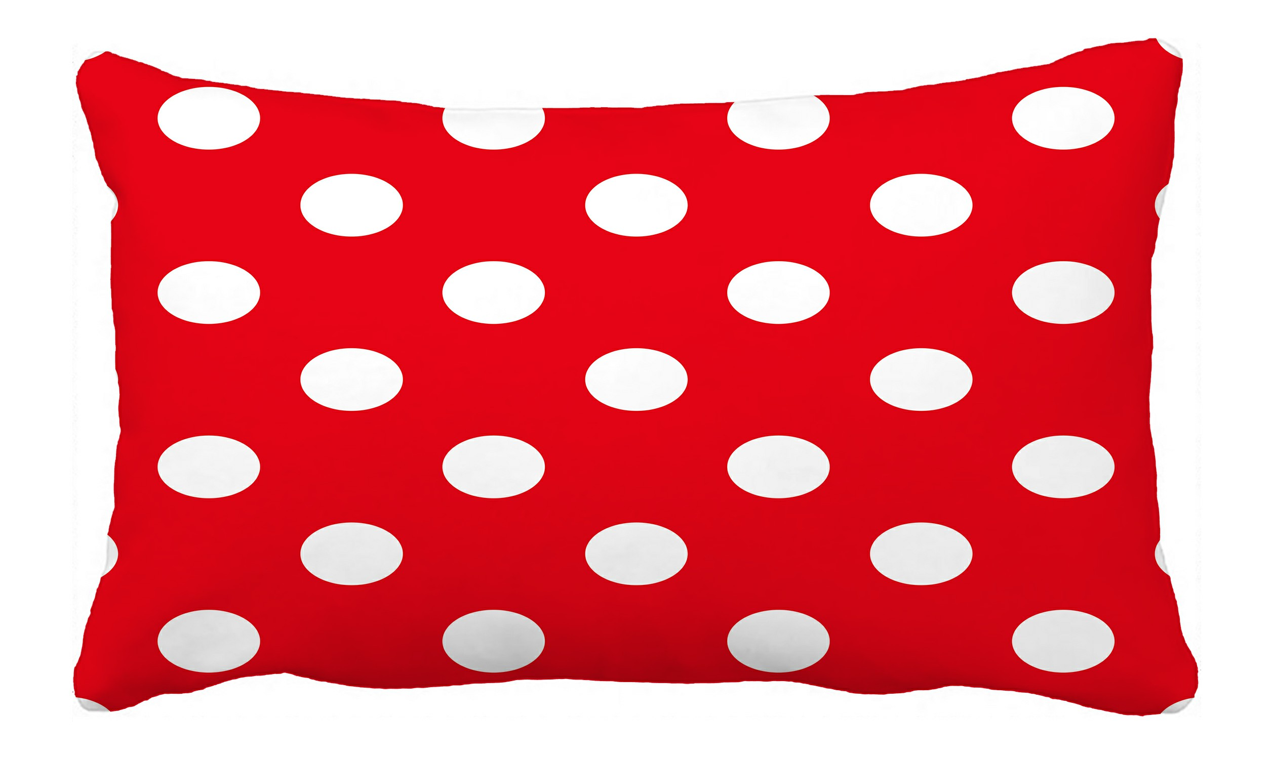 abphqto red polka dot pillow case pillow cover pillow protector two sides for couch bed 20x30 inch walmart com