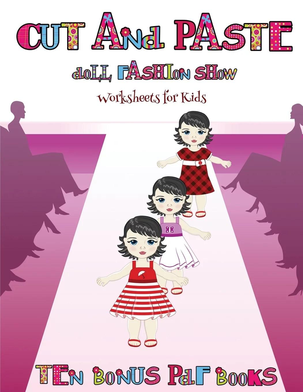 Worksheets For Kids Worksheets For Kids Cut And Paste