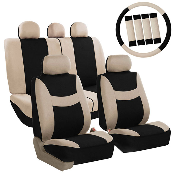 function accessories chair covers positions in dentistry fh group light breezy auto full set seat with steering wheel cover