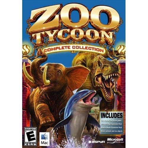 Zoo Tycoon Complete Collection Mac Walmart
