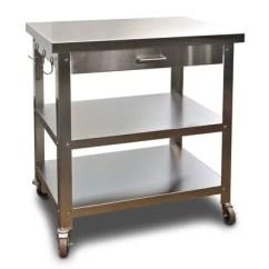 Kitchen Serving Cart Breakfast Bar Danver Cocina Walmart Com