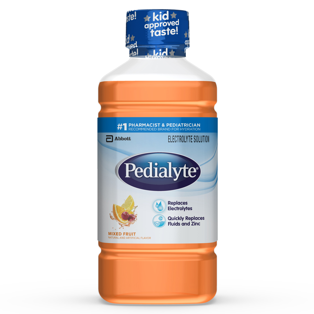 Pedialyte Electrolyte Solution Electrolyte Drink Mixed