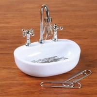 Kitchen Sink Magnetic Paper Clip Holder - Walmart.com