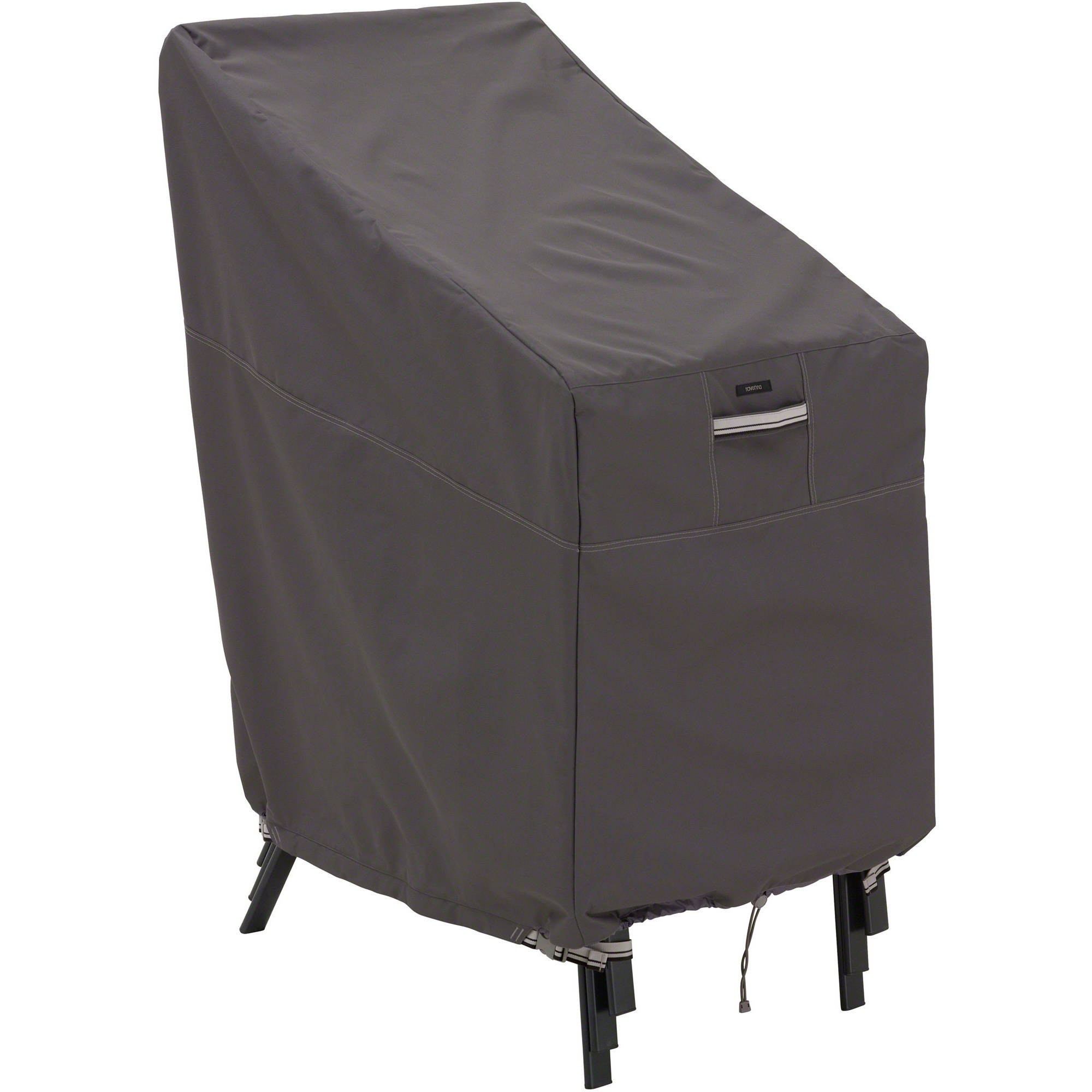outdoor stackable chairs canada chair glides for sale classic accessories ravenna cover premium furniture with durable and water resistant fabric taupe 55 179 015101 ec
