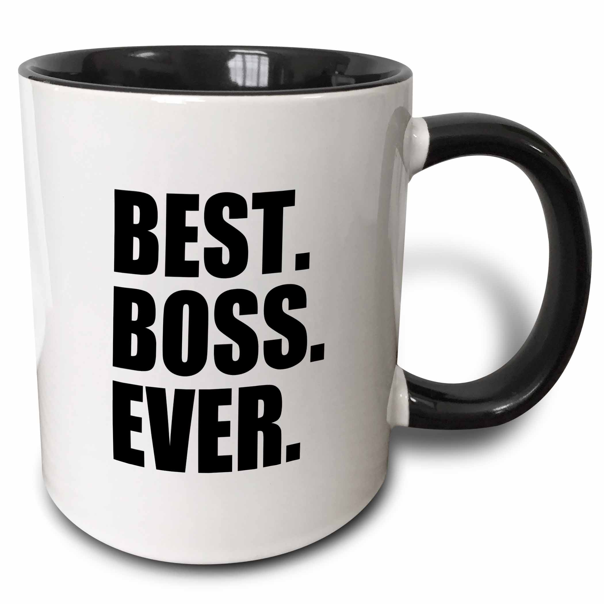 3drose Best Boss Ever Fun Funny Humorous Gifts For The