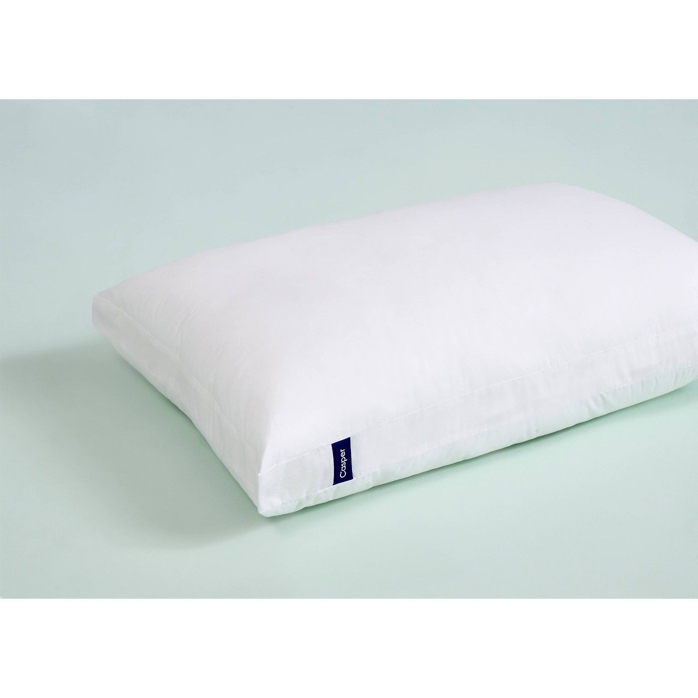 casper sleep pillow dual layer design 100 cotton cover for sleeping king white