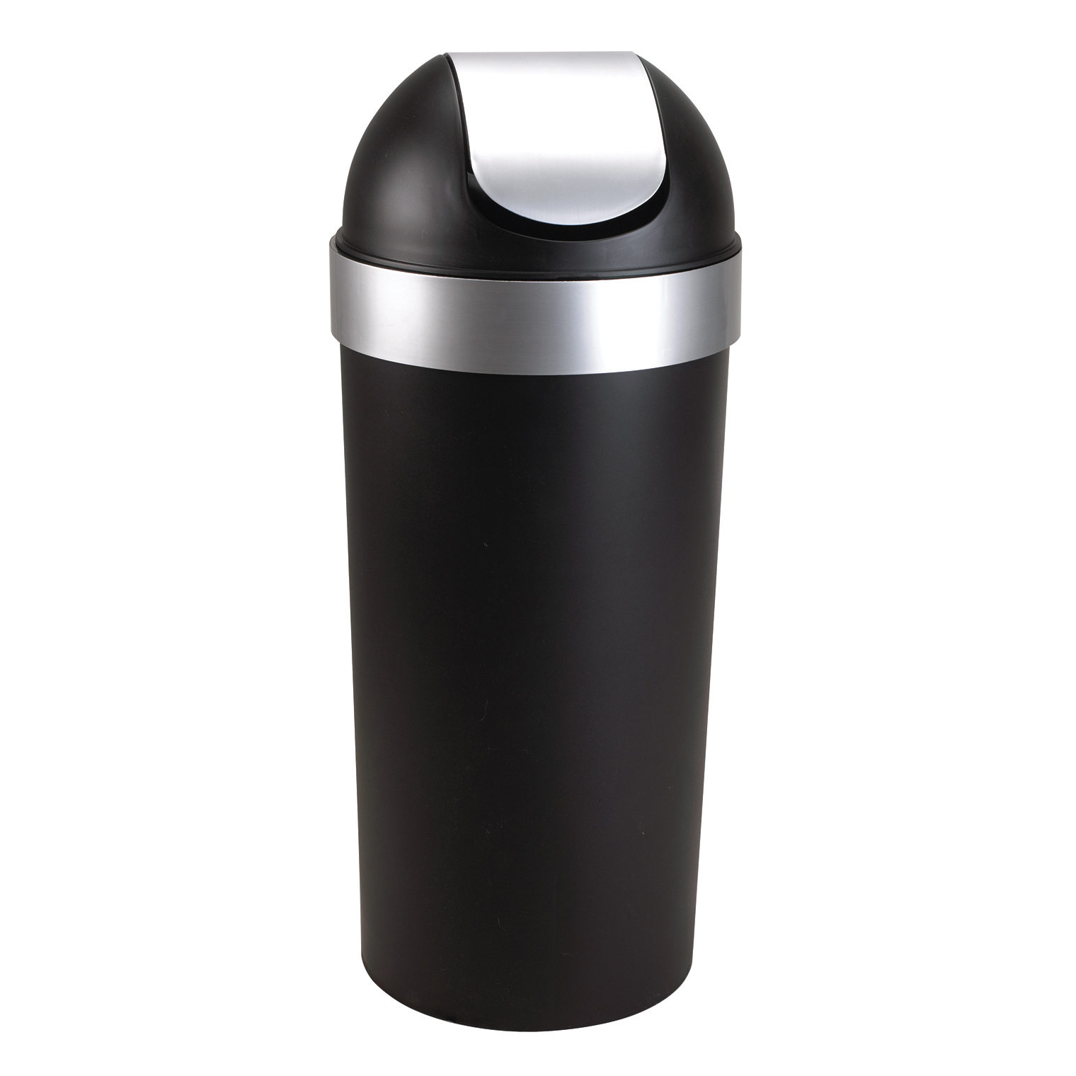 tall kitchen garbage can miami umbra venti 16 gallon swing top trash large 35 inch for indoor outdoor or commercial use black nickel walmart com