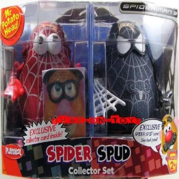 Playskool Spider-man 3 . Potato Head Spiderman
