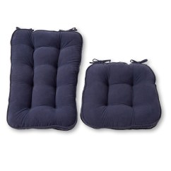 Large Rocking Chair Cushion Sets Santa Claus Hyatt Jumbo 2 Piece Set Walmart Com