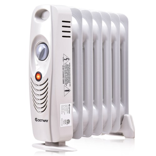 small resolution of 700w portable mini electric oil filled radiator heater safe walmart com