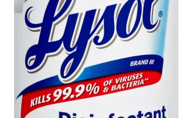 Lysol Disinfectant Spray Antibiotic Resistant Bacteria