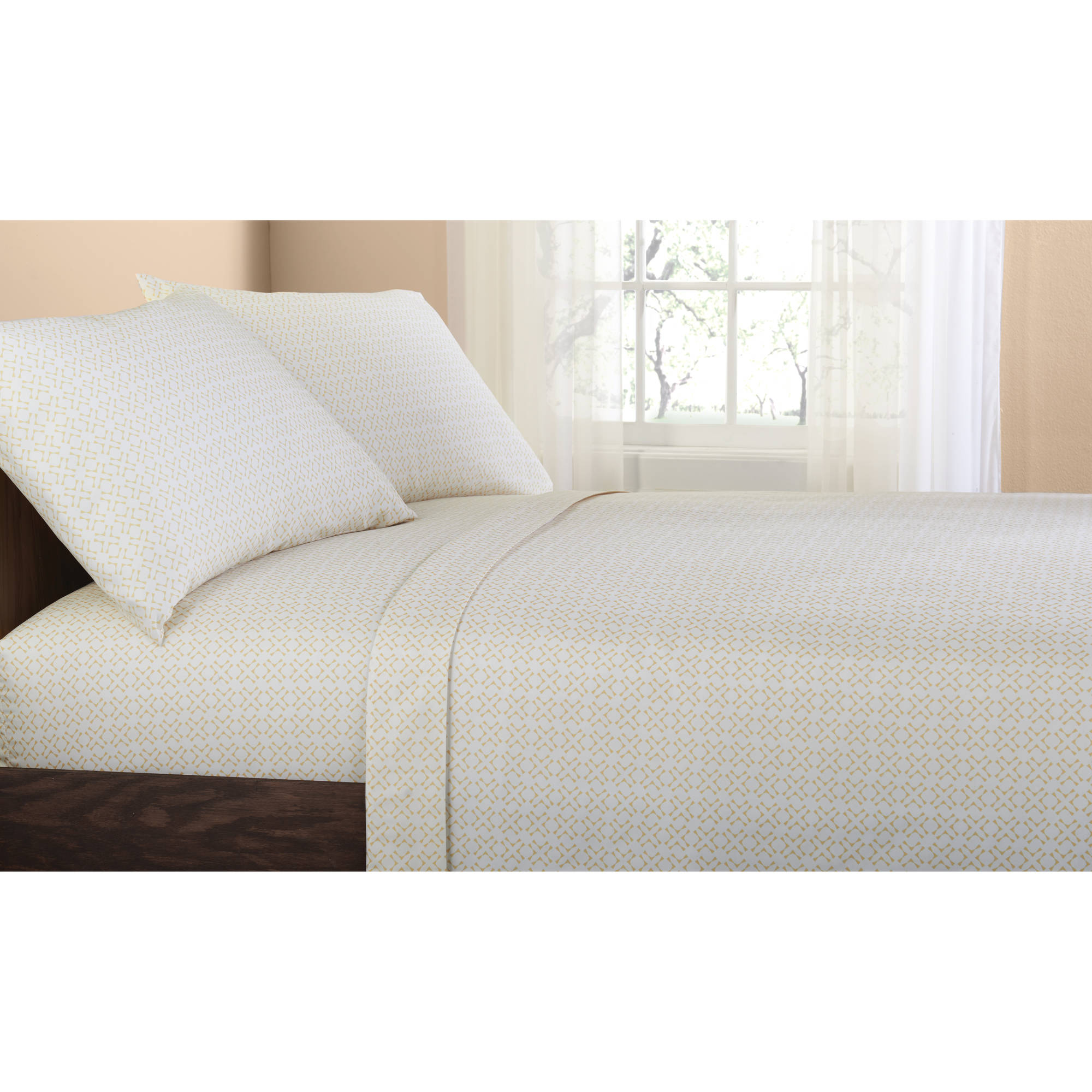 Twin/TwinXL Brown Bed in a Bag Coordinated Bedding Set