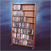 Wood Shed 700 Series 399 DVD Multimedia Storage Rack