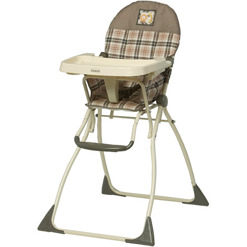 fold out chairs walmart studded dining cosco - flat high chair, gate walmart.com