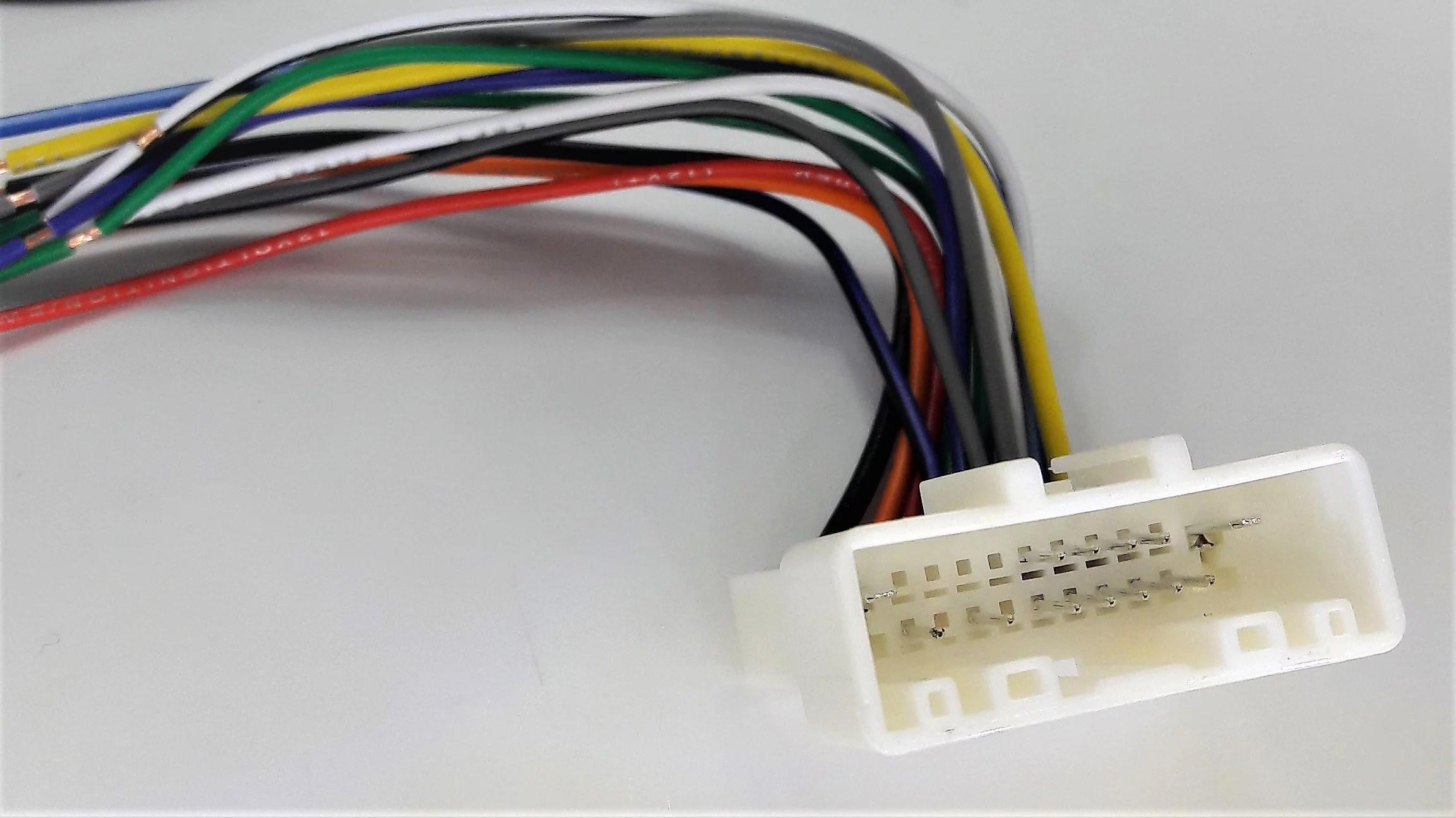 carxtc radio wire harness installs new car stereo fits nissan titancarxtc radio wire harness installs new [ 2306 x 1296 Pixel ]