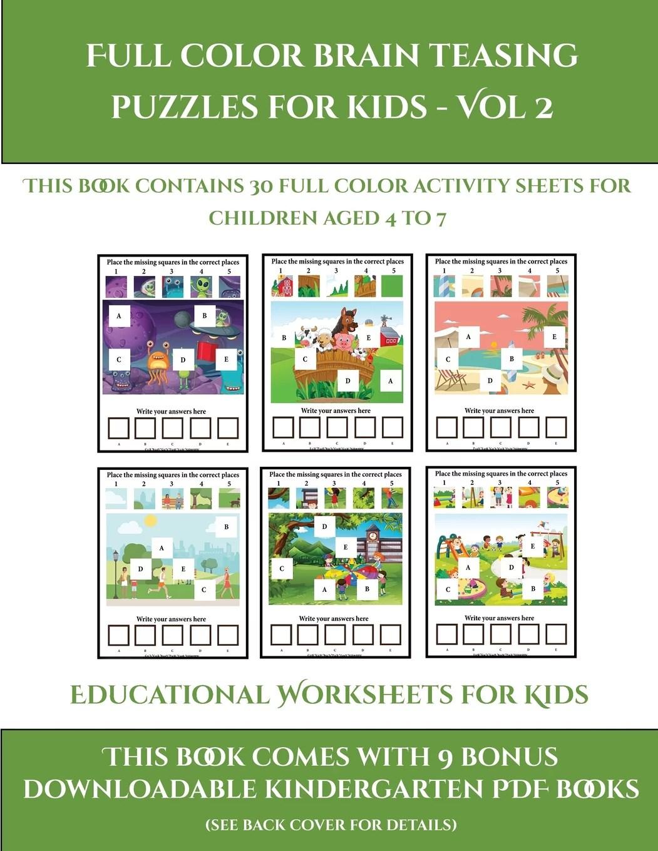 Educational Worksheets For Kids Educational Worksheets