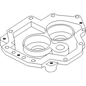 1342698C1 New Dual Speed PTO Cover Made to fit Case-IH