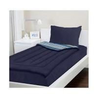 Zipit Bedding Navy Blue Reversible Bed-In-A-Bag Set ...