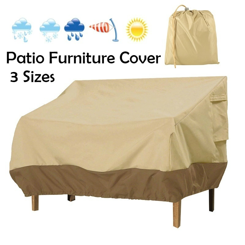 new 3 sizes outdoor patio furniture cover oxford sofa protection patio rain snow dustproof furniture covers