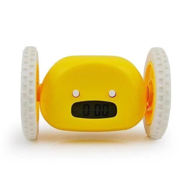 Clocky Alarm Clock On Wheels Extra