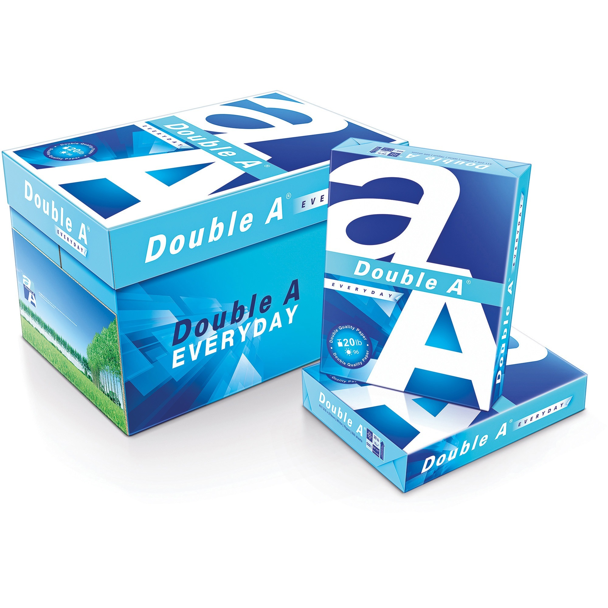 Double A Everyday Copy and Multipurpose Paper