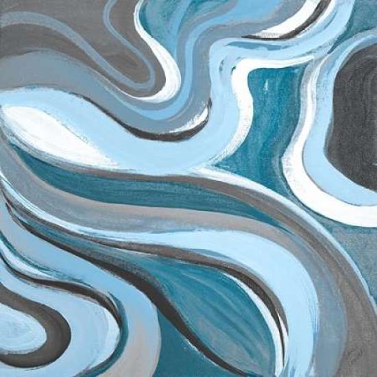 curvilinear bright blue ii