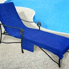 Terry Towel Lounge Chair Covers Ergonomic Gold Coast Pool Side Chaise Cover Walmart Com