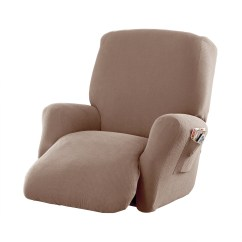 Electric Lift Chair Aldi Operating Room Chairs Slipcovers Walmart Com Product Image Mainstays Stretch Pixel 4 Piece Recliner Furniture Slipcover