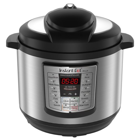 Instant Pot LUX60 8 Qt 6-in-1 Multi-Use Programmable Pressure Cooker, Slow Cooker, Rice Cooker, Saute, Steamer, and Warmer