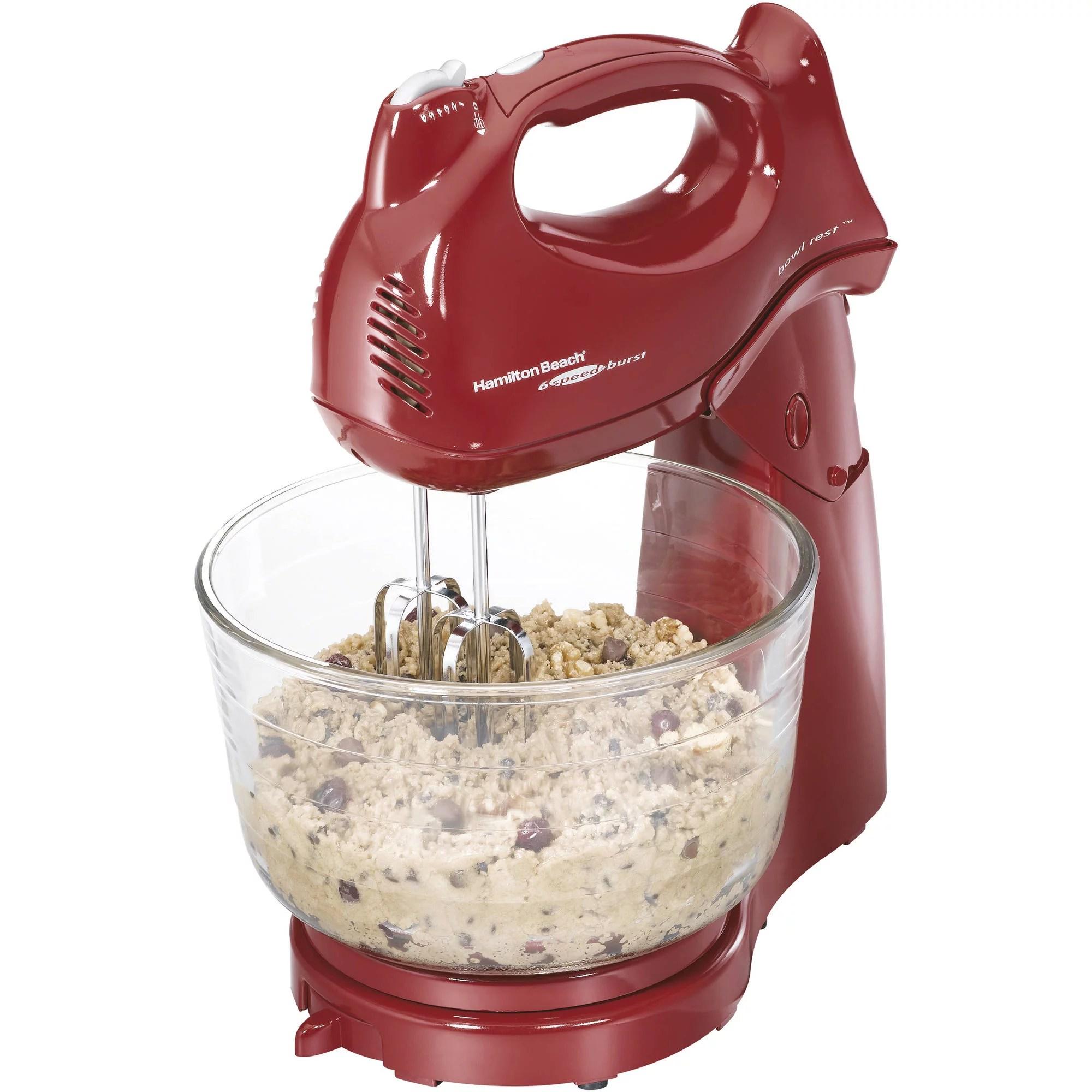 walmart kitchen aid mixer ikea sets hamilton beach power deluxe 4 quart stand red 64699 com
