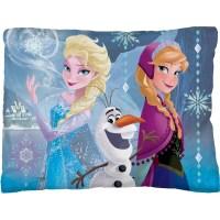 "Disney Frozen ""Frozen in Time"" Bed Pillow - Walmart.com"