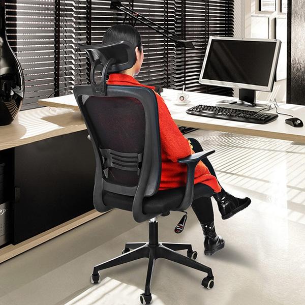 computer desk chair walmart plywood lounge eames ancheer high black mesh swivel ergonomic office com