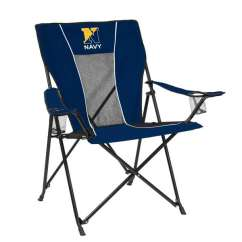 Folding Chair Embroidered Light Blue Dining Chairs Uk Navy Game Time Walmart Com