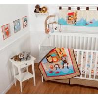 Sumersault - Noah's Ark 10-Piece Nursery-in-a-Bag Crib ...