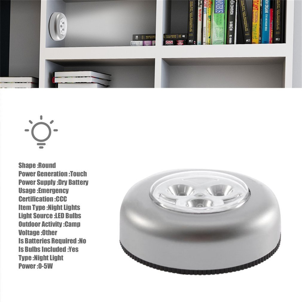 3 leds battery powered stick tap touch light lamp bedside tent home touch lamp wiring diagram touch light wiring [ 1010 x 1010 Pixel ]