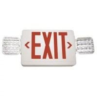 Barron Lighting Exitronix Exit/LED Emergency Combo Light ...