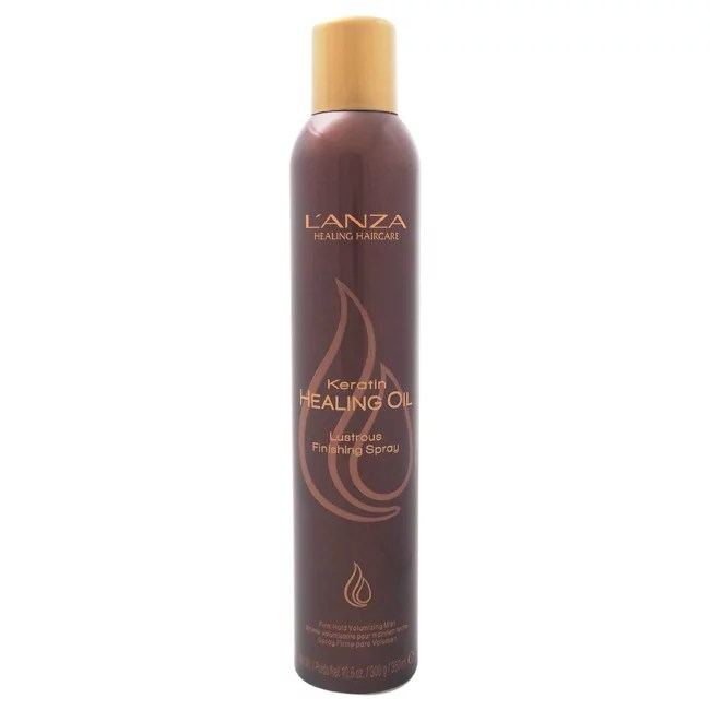L'Anza Keratin Healing Oil Lustrous Finishing Hairspray, 10.6 Oz