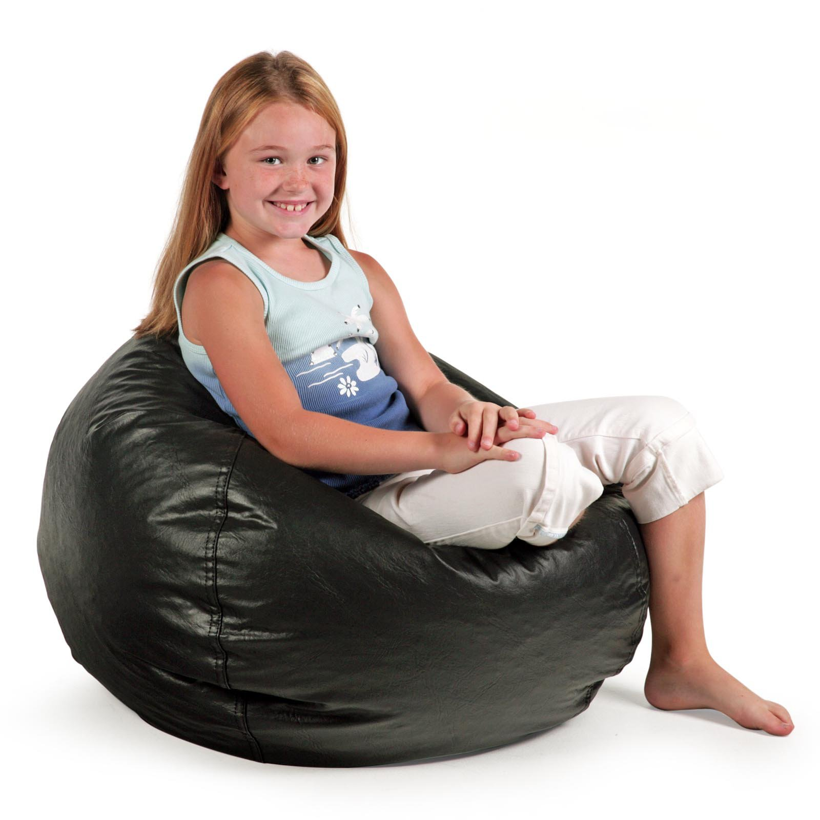 Bean Bags Chair Small Standard Vinyl Bean Bag Chair