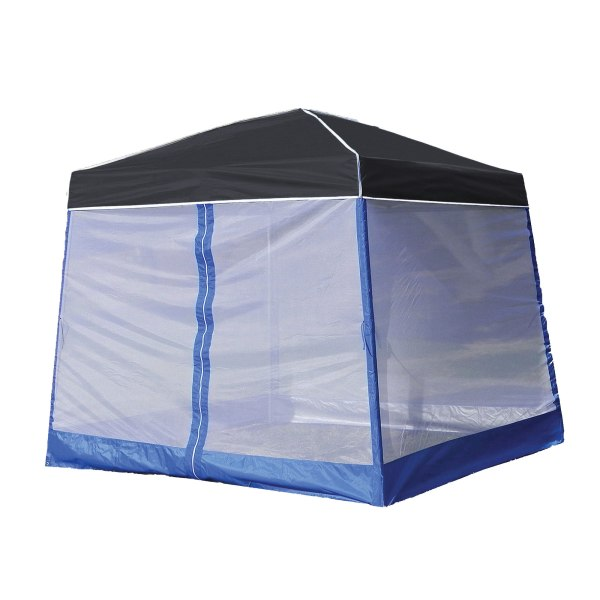 Shade 10' X Outdoor Portable Black Canopy Tent Screen Shelter Attachment