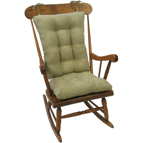 dining chair cushions non slip comfy deck chairs gripper jumbo rocking cushions, nouveau - walmart.com