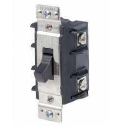 ms302 ds 30 amp 600 volt double pole single phase ac motor starter suitable as motor disconnect industrial grade non grounding black by leviton ship  [ 1000 x 1000 Pixel ]