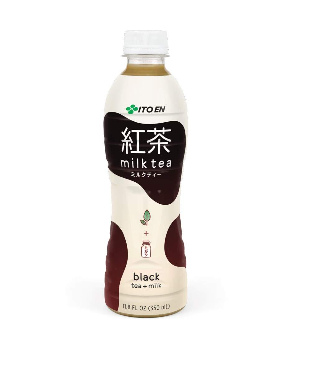 Ito En Black Tea + Milk Milk Tea 11.8 oz Plastic Bottles ...